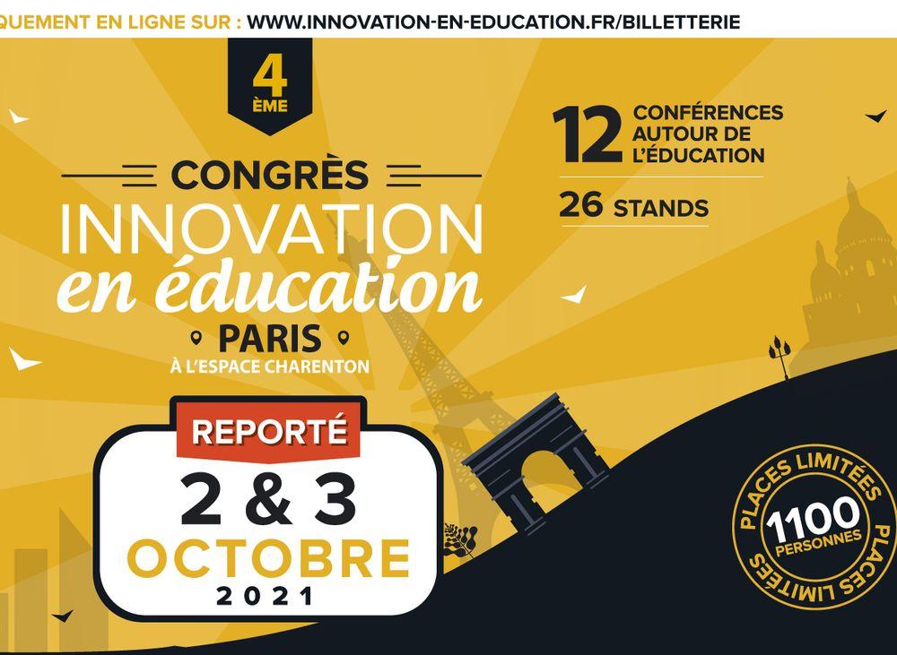 Congrès Innovation en éducation 2 et 3 octobre 2021 - Isabelle Filliozat