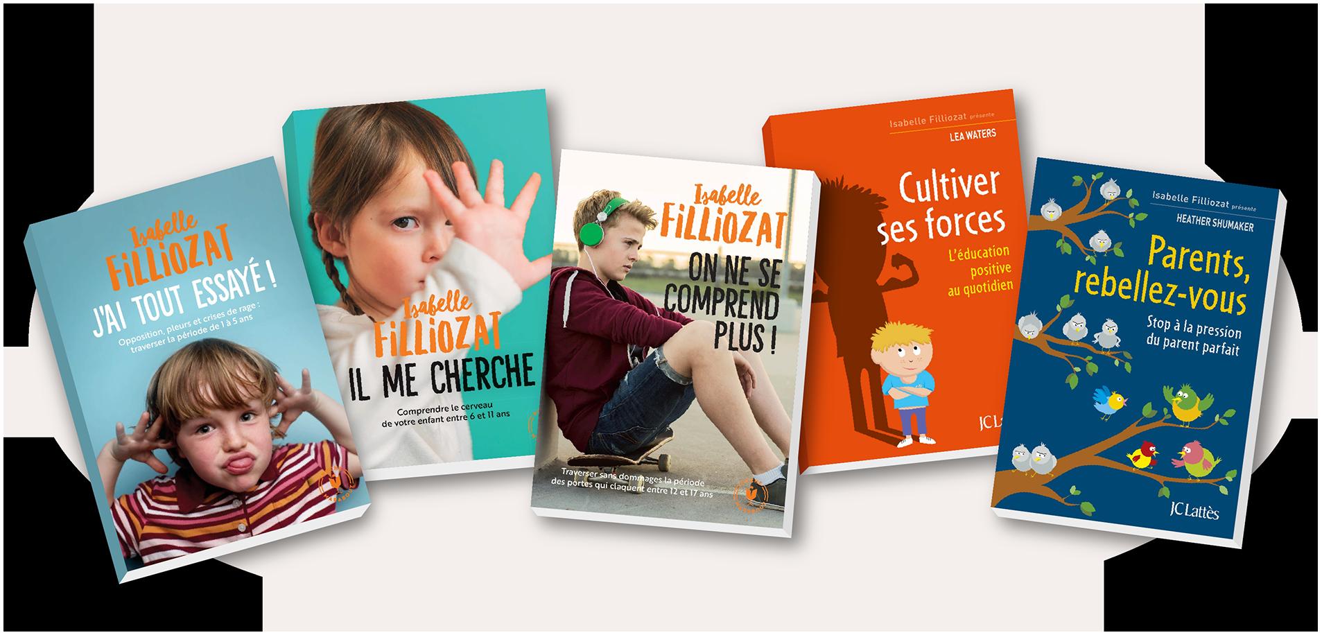 Livres parents - Image site Isabelle Filliozat